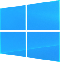 Windows 10 Logo (BG) New
