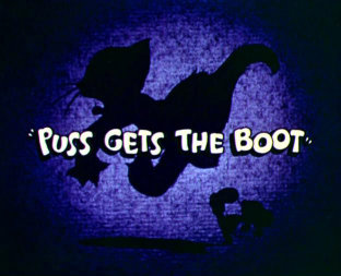 Puss Gets the Boot