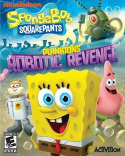 SpongeBob SquarePants Planktons Robotic Revenge NA game cover.jpg