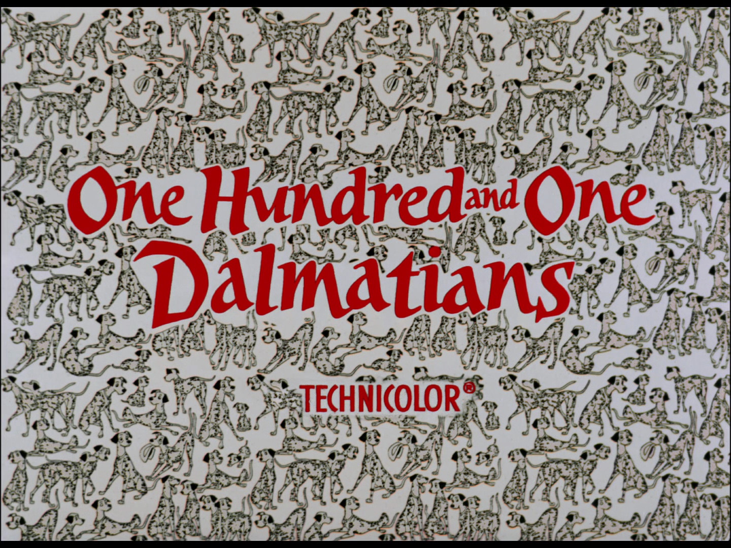 One Hundred And One Dalmatians 1961 Film Logopedia Fandom