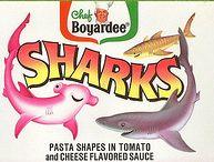 Chef Boyardee Sharks