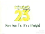 Studio 23 Logo ID 1999