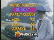 WJKS-TV Rufus Forecast 1983