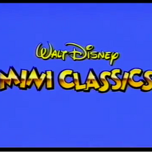 Walt Disney Mini Classics Logopedia Fandom
