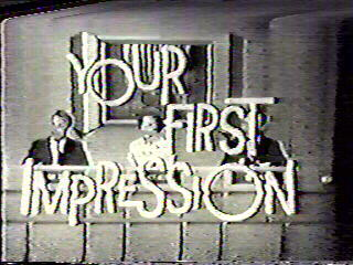 Your First Impression