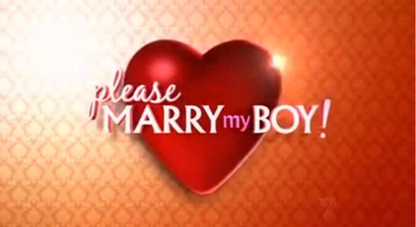Please Marry My Boy!
