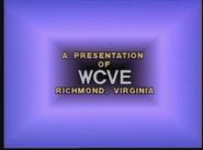 WCVE tv logo 1982