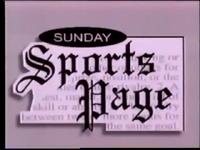 WJW Sunday Sports Page