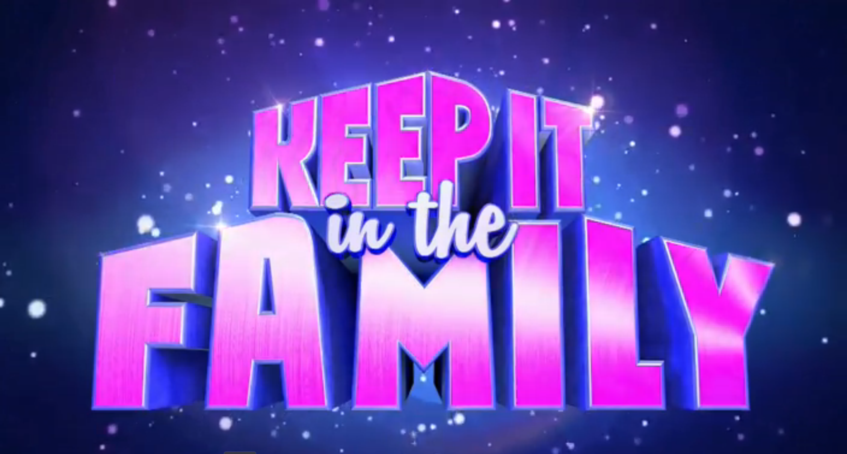 Keep It in the Family (UK game show)