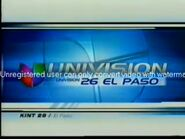 Univision 26 El Paso ID 2002