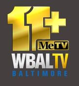 WBAL TV Plus MeTV Logo