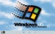 Windows 95 RC1 Bootscreen (April 1995)