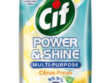 Cif Power and Shine Multipurpose Wipes Citrus Fresh