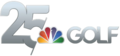 Golf Channel 25th Anniversary Logo