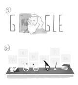 Google Dmitri Mendeleev's 182nd Birthday (Storyboards)