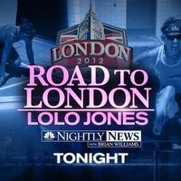 NBC News' NBC Nightly News With Brian Williams' London 2012, Road To London, Lolo Jones Video Promo For Tuesday Evening, June 19, 2012