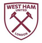New West Ham United FC logo (white and claret v1)