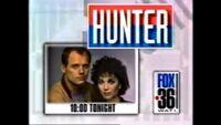 WATL FOX 36 promo for Hunter 10pm Tonight from 1992