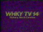 WHKY-TV 1989
