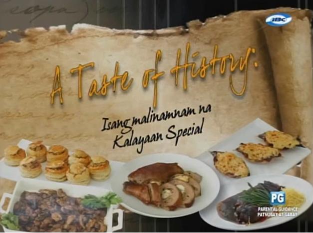 A Taste of History: Isang Malinamnam Na Kalayaan Special