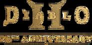 Diablo II 20th Anniversary logo
