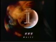 BBC1 Wales ident 1993 no 888 bug