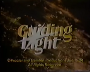 Guiding Light Close From August 13, 1984 - 3