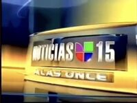Kinc noticias univision 15 11pm package 2006
