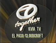 KVIA Station ID image 1988-1989