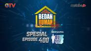 Bedah Rumah Baru Special 400 Episode Bersama Duit Kaget