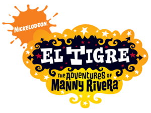 El Tigre The Adventures of Manny Rivera logo.png
