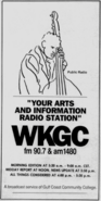 WKGC - 1988 - Arts & Information -September 30, 1988-