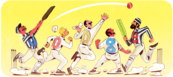 Google 140th Anniversary of the First Cricket Test Match
