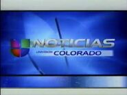 Kcec now back to noticias univision colorado bumper 2002
