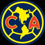 Escudo Club América 2010-2017 Azul