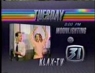 KLAX-TV Moonlighting Promo