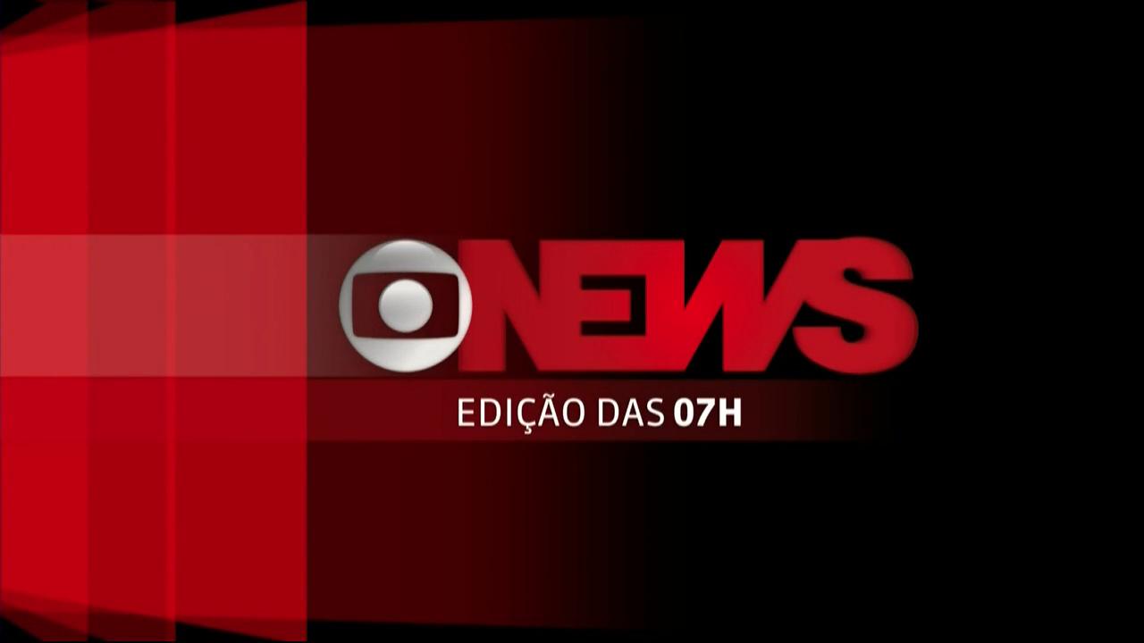 Jornal GloboNews - Edição das 07h