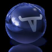 Longhorn Blue Ball