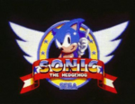 Sega Sonic Title Screen 2