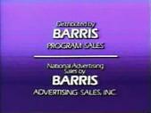 Barris Program Sales