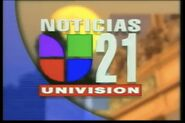 Kftv noticias 21 evening package 1996