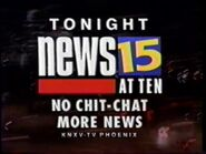 10 and 111994 News15 KNXV Teases and News Promos 1
