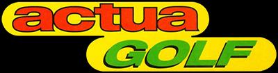 Actua Golf (video game series)