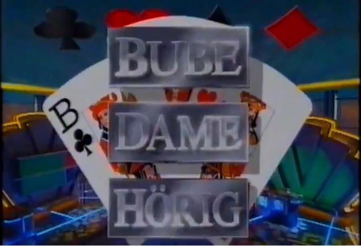 Bube, Dame, Horig