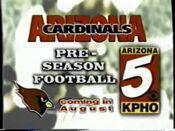 7161996 KPHO Channel 5 CBS News teases and Football promo 3