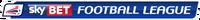 Sky Bet Football League logo (linear)