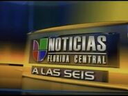 Wven wvea noticias univision florida central 6pm package 2009