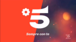Canale 5 - red orange 2018