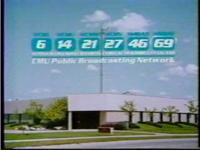 WCMU-TV 1984 Public Broadcasting Center