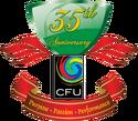 Caribbean Football Union logo (35th anniversary)